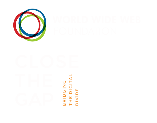 World wide web foundation and Close the GAP Foundation